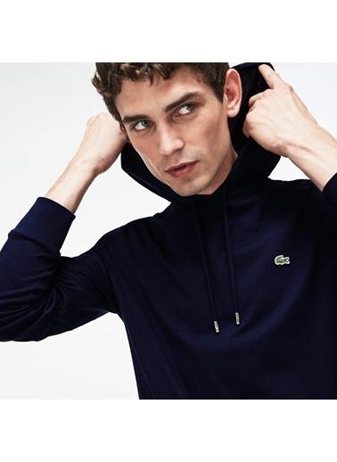 Lacoste Erkek  Sweatshirt TH9349.166 Lacivert